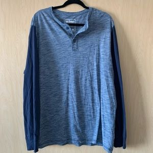 Urban Pipeline | Blue Long Sleeve Top | XXL